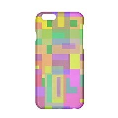 Pastel Colorful Design Apple Iphone 6/6s Hardshell Case by Valentinaart
