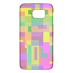 Pastel Colorful Design Galaxy S6 by Valentinaart