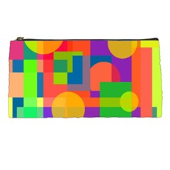 Colorful Geometrical Design Pencil Cases
