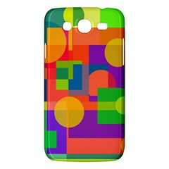 Colorful Geometrical Design Samsung Galaxy Mega 5 8 I9152 Hardshell Case  by Valentinaart
