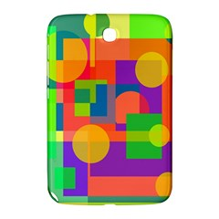 Colorful Geometrical Design Samsung Galaxy Note 8 0 N5100 Hardshell Case  by Valentinaart