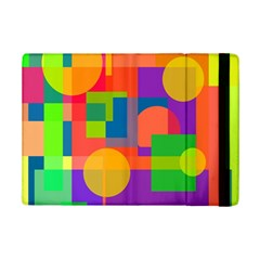 Colorful Geometrical Design Ipad Mini 2 Flip Cases by Valentinaart