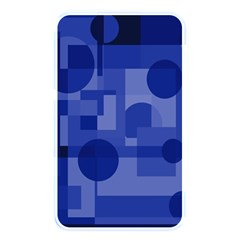 Deep Blue Abstract Design Memory Card Reader by Valentinaart