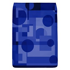 Deep Blue Abstract Design Flap Covers (s)  by Valentinaart