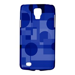 Deep Blue Abstract Design Galaxy S4 Active by Valentinaart