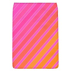 Pink Elegant Lines Flap Covers (l)  by Valentinaart