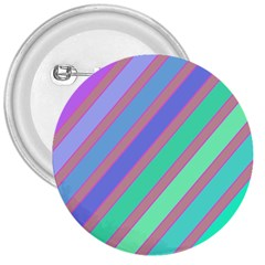 Pastel Colorful Lines 3  Buttons by Valentinaart