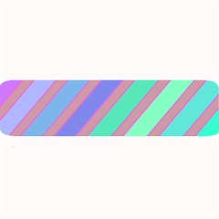Pastel Colorful Lines Large Bar Mats by Valentinaart