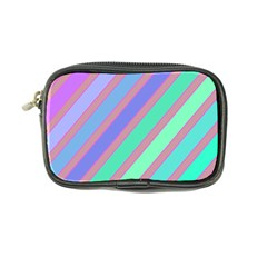 Pastel Colorful Lines Coin Purse by Valentinaart