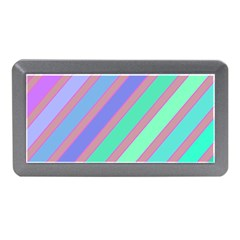 Pastel Colorful Lines Memory Card Reader (mini) by Valentinaart