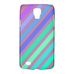 Pastel Colorful Lines Galaxy S4 Active by Valentinaart