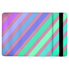 Pastel Colorful Lines Ipad Air Flip by Valentinaart