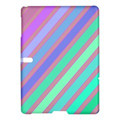 Pastel Colorful Lines Samsung Galaxy Tab S (10 5 ) Hardshell Case  by Valentinaart