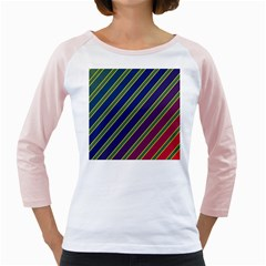Decorative Lines Girly Raglans by Valentinaart