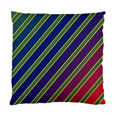 Decorative Lines Standard Cushion Case (two Sides) by Valentinaart