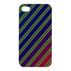 Decorative Lines Apple Iphone 4/4s Hardshell Case by Valentinaart