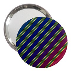 Decorative Lines 3  Handbag Mirrors