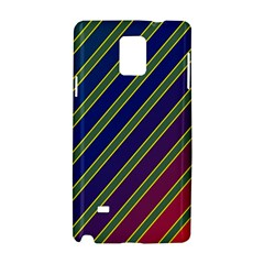 Decorative Lines Samsung Galaxy Note 4 Hardshell Case by Valentinaart