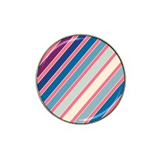 Colorful Lines Hat Clip Ball Marker (10 Pack) by Valentinaart