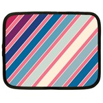 Colorful lines Netbook Case (Large) Front