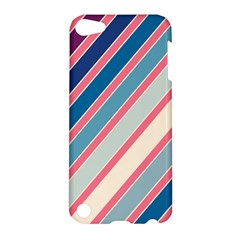 Colorful Lines Apple Ipod Touch 5 Hardshell Case by Valentinaart
