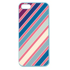 Colorful Lines Apple Seamless Iphone 5 Case (color) by Valentinaart