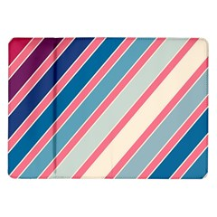 Colorful Lines Samsung Galaxy Tab 10 1  P7500 Flip Case by Valentinaart