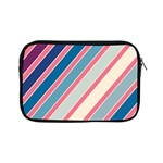 Colorful lines Apple iPad Mini Zipper Cases Front