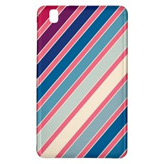 Colorful Lines Samsung Galaxy Tab Pro 8 4 Hardshell Case by Valentinaart