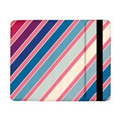 Colorful Lines Samsung Galaxy Tab Pro 8 4  Flip Case by Valentinaart