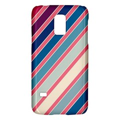 Colorful Lines Galaxy S5 Mini by Valentinaart