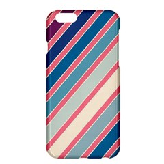 Colorful Lines Apple Iphone 6 Plus/6s Plus Hardshell Case by Valentinaart