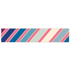 Colorful Lines Flano Scarf (small) by Valentinaart