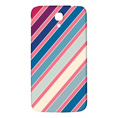 Colorful Lines Samsung Galaxy Mega I9200 Hardshell Back Case by Valentinaart