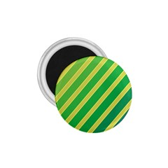 Green And Yellow Lines 1 75  Magnets by Valentinaart