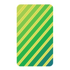 Green And Yellow Lines Memory Card Reader by Valentinaart