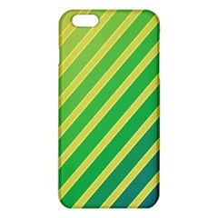Green And Yellow Lines Iphone 6 Plus/6s Plus Tpu Case