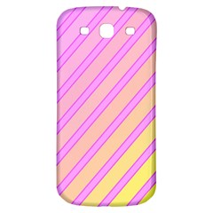 Pink And Yellow Elegant Design Samsung Galaxy S3 S Iii Classic Hardshell Back Case by Valentinaart