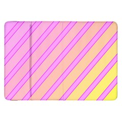 Pink And Yellow Elegant Design Samsung Galaxy Tab 8 9  P7300 Flip Case by Valentinaart