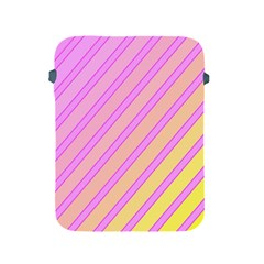 Pink And Yellow Elegant Design Apple Ipad 2/3/4 Protective Soft Cases by Valentinaart