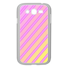 Pink And Yellow Elegant Design Samsung Galaxy Grand Duos I9082 Case (white) by Valentinaart
