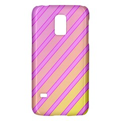 Pink And Yellow Elegant Design Galaxy S5 Mini