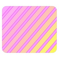 Pink And Yellow Elegant Design Double Sided Flano Blanket (small)