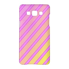 Pink And Yellow Elegant Design Samsung Galaxy A5 Hardshell Case