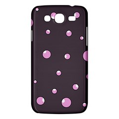 Pink Bubbles Samsung Galaxy Mega 5 8 I9152 Hardshell Case  by Valentinaart