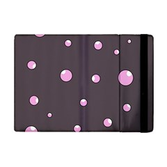 Pink Bubbles Ipad Mini 2 Flip Cases by Valentinaart