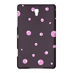 Pink Bubbles Samsung Galaxy Tab S (8 4 ) Hardshell Case  by Valentinaart