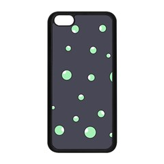 Green Bubbles Apple Iphone 5c Seamless Case (black) by Valentinaart