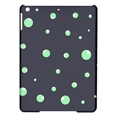 Green Bubbles Ipad Air Hardshell Cases by Valentinaart