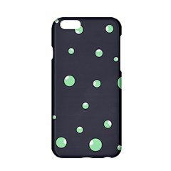 Green Bubbles Apple Iphone 6/6s Hardshell Case by Valentinaart